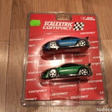 Scalextric: SCALEXTRIC BLISTER COMPACT 2 COCHES TUNING REF. 3700. Lote 184661955