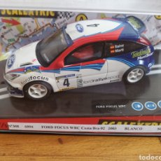 Scalextric: COCHE SCALEXTRIC DE TECNITOYS FORD FOCUS WRC COSTA BRAVA 02 2003 REF. 6094 Nº4. Lote 184725525