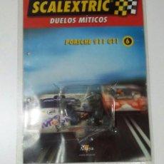 Scalextric: SCALEXTRIC PORSCHE 911 GT1 RUEDAS DELANTERAS,TRASERAS Y TRENCILLAS NUEVAS SIN ESTRENAR. Lote 185736820