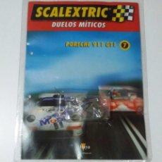 Scalextric: SCALEXTRIC PORSCHE 911 GT1 MOTOR TECNITOYS RX-41 NUEVO SIN USAR EN SU ENVOLTORIO ORIGINAL. Lote 185737652
