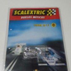 Scalextric: SCALEXTRIC LIGIER JS-11 MOTOR TECNITOYS RX-4 NUEVO SIN USAR EN SU ENVOLTORIO ORIGINAL. Lote 185739086
