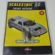 Scalextric: SCALEXTRIC MERCEDES WANKEL C-111 MOTOR TECNITOYS RX-41 NUEVO SIN USAR EN SU ENVOLTORIO ORIGINAL. Lote 185740033