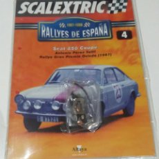 Scalextric: SCALEXTRIC SEAT 850 COUPÉ MOTOR TECNITOYS NUEVO SIN USAR EN SU ENVOLTORIO ORIGINAL. Lote 185740632