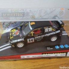 Scalextric: COCHE SCALEXTRIC DE TECNITOYS SEAT CÓRDOBA E2 ROCA WRC 2002 REF. 6083 Nº14. Lote 185879431