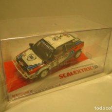 Scalextric: LANCIA DELTA INTEGRALE RALLY SAFARI SCALEXTRIC NUEVO. Lote 257554365