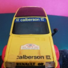 Scalextric: RENAULT 5 CALBERSSON CON CAJA NO SUYA. Lote 186342758