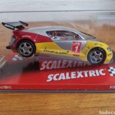 Scalextric: COCHE SCALEXTRIC DE TECNITOYS SEAT CUPRA GT DOMO Nº1 G. VIVANCOS J. GENÉ REF. 6184. Lote 186756111