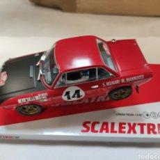 Scalextric: SCALEXTRIC LANCIA FULVIA 1.6 HF MUNARI MANNUCCI SCX REF. U10247S300. Lote 198747218