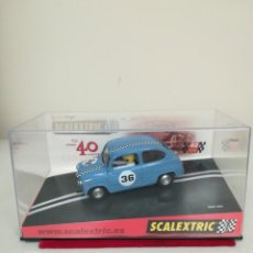 Scalextric: SEAT 600 SCALEXTRIC 40 ANIVERSARIO 2002. Lote 188612388