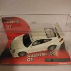 Scalextric: SCALEXTRIC PORSCHE 911 GT3 CUP BLANCO MUY RARO. Lote 189519826