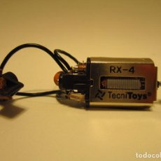 Scalextric: LOTE MOTOR RX4 , GUIA, CABLES SCALEXTRIC NUEVOS. Lote 189977625
