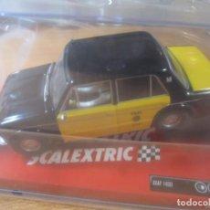 Scalextric: COCHE SCALEXTRIC SEAT 1430 TAXI BARCELONA NUEVO PRECINTADO TECNITOYS . Lote 190155811
