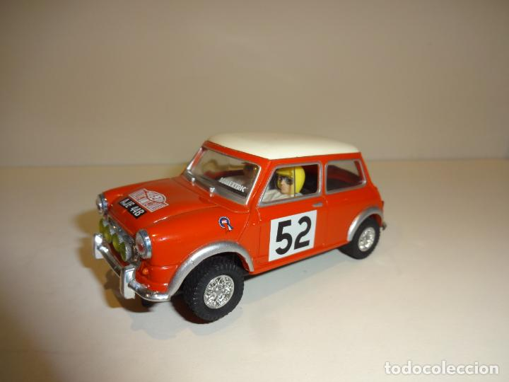 SCALEXTRIC. MINI COOPER. RALLY MONTECARLO (Juguetes - Slot Cars - Scalextric Tecnitoys)