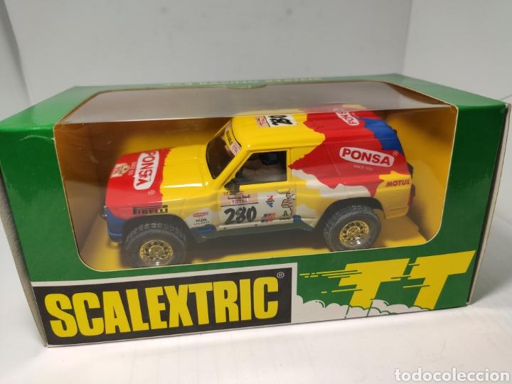 SCALEXTRIC NISSAN PATROL TT PONSA SCX TECNITOYS REF. 6510 (Juguetes - Slot Cars - Scalextric Tecnitoys)