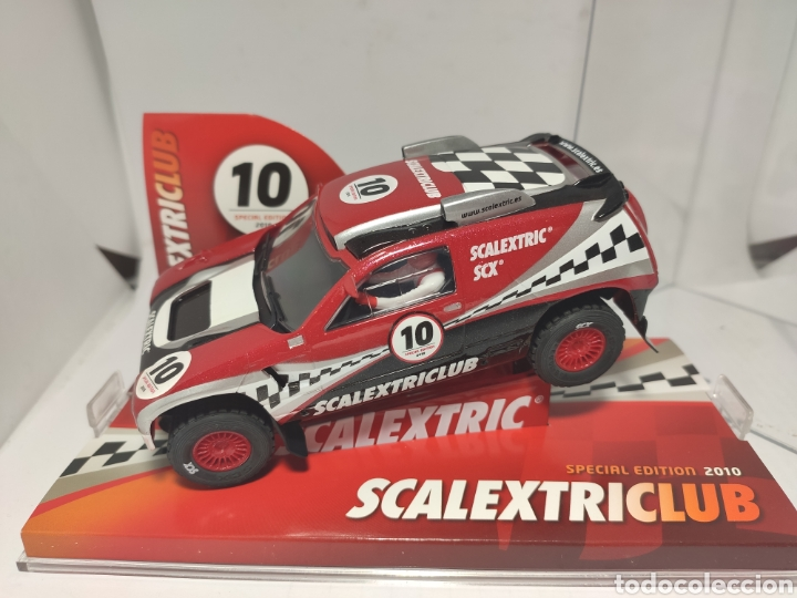 SCALEXTRIC VOLKSWAGEN TOUAREG CLUB SCALEXTRIC 2010 TECNITOYS SCX (Juguetes - Slot Cars - Scalextric Tecnitoys)