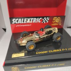 Scalextric: SCALEXTRIC COOPER CLÍMAX F1 50 ANIVERSARIO. Lote 191010921