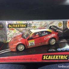 Scalextric: COCHE SCALEXTRIC CITROEN XSARA WRC RALLY MONTECARLO BUGALSKI BUGALSKI. REFERENCIA 6074. Lote 191092488