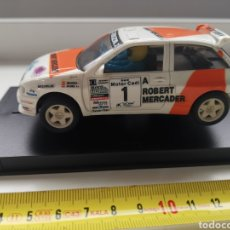 Scalextric: COCHE SCALEXTRIC DE TECNITOYS SEAT IBIZA KIT CAR MERCADER Nº1 REF. 8390-09. Lote 191598868