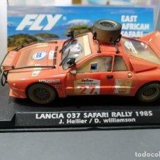 Scalextric: LANCIA 037 SAFARI RALLY 1985 EFECTO SUCIO DE FLY. Lote 280191918