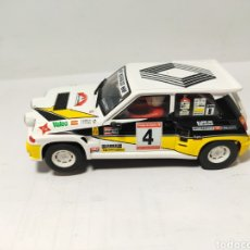 Scalextric: SCALEXTRIC RENAULT 5 MAXITURBO N°4. Lote 192100708