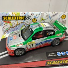Scalextric: SCALEXTRIC HYUNDAI ACCENT WRC MONTECARLO 2002 OPEN CATALUNYA 2002 LLUM LLAMP TECNITOYS. Lote 192932455