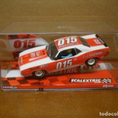 Scalextric: SCALEXTRIC PLYMOUTH BARRACUDA CLUB SCALEXTRIC 2015 NUEVO CON SU CAJA ORIGINAL. Lote 194177462