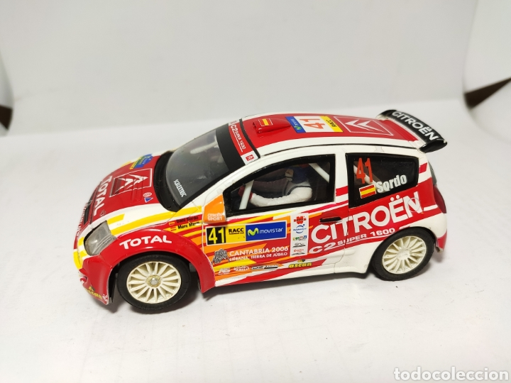 SCALEXTRIC CITROEN C2 JWRC N°41 SORDO TECNITOYS (Juguetes - Slot Cars - Scalextric Tecnitoys)
