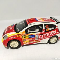 Scalextric: SCALEXTRIC CITROEN C2 JWRC N°41 SORDO TECNITOYS. Lote 194200646