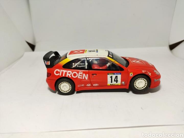 Scalextric: SCALEXTRIC CITROEN XSARA WRC TECNITOYS BUGALSKI - Foto 3 - 194201000