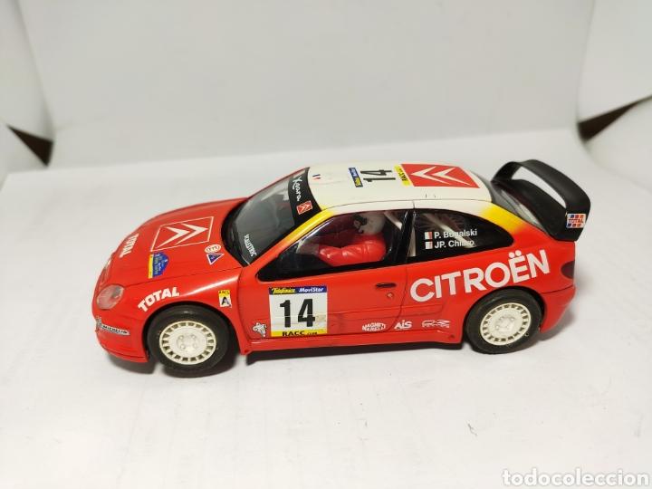 SCALEXTRIC CITROEN XSARA WRC TECNITOYS BUGALSKI (Juguetes - Slot Cars - Scalextric Tecnitoys)