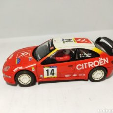 Scalextric: SCALEXTRIC CITROEN XSARA WRC TECNITOYS BUGALSKI. Lote 194201000