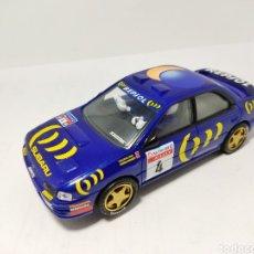 Scalextric: SCALEXTRIC SUBARU IMPREZA WRC N°4 ALTAYA. Lote 194334092