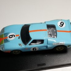 Scalextric: COCHE SCALEXTRIC DE TECNITOYS FORD GT GULF REPRO Nº6 REF. C-35. Lote 194342146