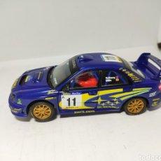 Scalextric: SCALEXTRIC SUBARU IMPREZA WRC TECNITOYS SOLBERG. Lote 194344318