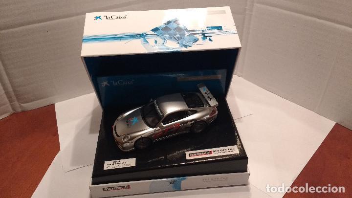 SLOT PORSCHE 911 GT3 CUP LA CAIXA ESCALA 1:32 (Juguetes - Slot Cars - Scalextric Tecnitoys)