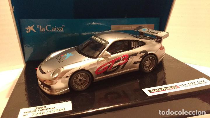 Scalextric: SLOT PORSCHE 911 GT3 CUP LA CAIXA ESCALA 1:32 - Foto 2 - 194513867