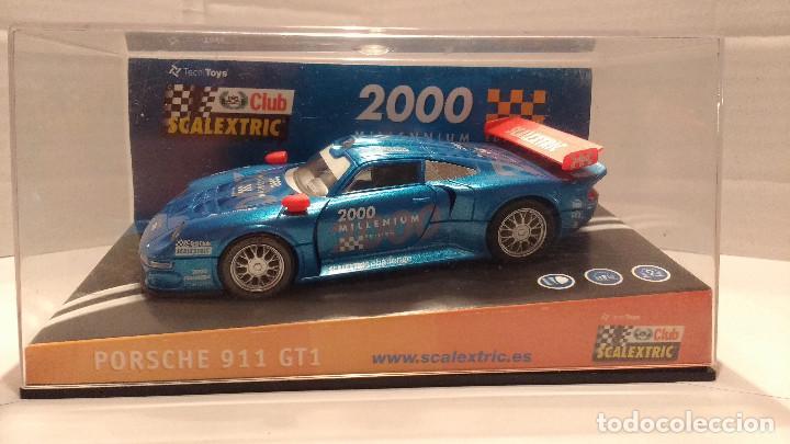 SLOT PORSCHE 911 GT1 MILLENNIUM ESCALA 1:32 (Juguetes - Slot Cars - Scalextric Tecnitoys)