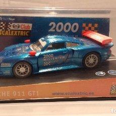 Scalextric: SLOT PORSCHE 911 GT1 MILLENNIUM ESCALA 1:32. Lote 194514176