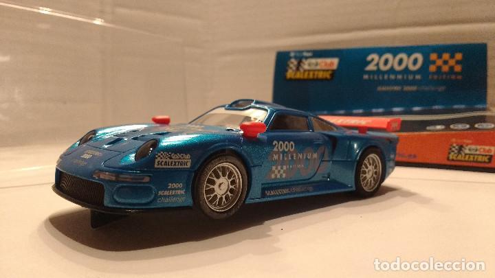 Scalextric: SLOT PORSCHE 911 GT1 MILLENNIUM ESCALA 1:32 - Foto 3 - 194514176