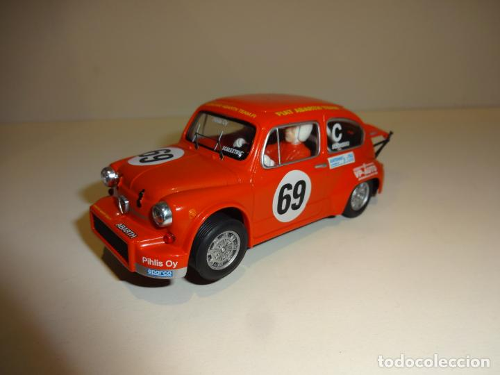 SCALEXTRIC. FIAT ABARTH 40 ANIVERSARIO (Juguetes - Slot Cars - Scalextric Tecnitoys)