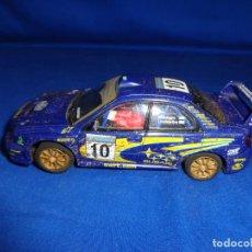 Scalextric: SCALEXTRIC - COCHE SUBARU IMPREZA WRC,RX - 81 TECNITOYS , VER FOTOS! SM. Lote 194570782