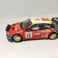 Scalextric: SCALEXTRIC CITROEN XSARA WRC TECNITOYS EFECTO NIEVE. Lote 194628102