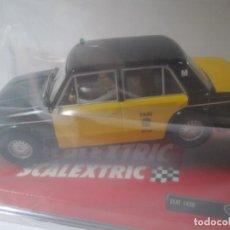 Scalextric: COCHE SEAT 1430 TAXI BARCELONA TECNITOYS SCALEXTRIC NUEVO PRECINTADO. Lote 194717840