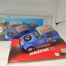 Scalextric: SCALEXTRIC CITROEN 2CV SAHARA EDICIÓN LIMITADA ALOY SCALEXTRIC PASSION 2011. Lote 194781650