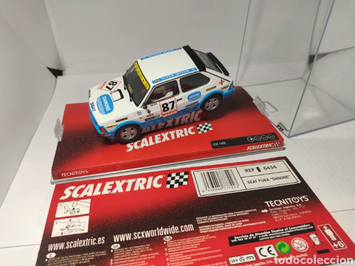 SCALEXTRIC SEAT FURA DANONE TECNITOYS REF. 6434 (Juguetes - Slot Cars - Scalextric Tecnitoys)