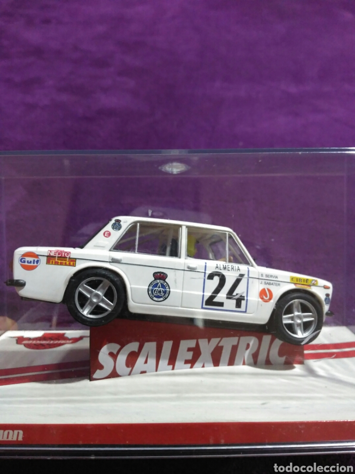 Scalextric: SLOT SCALEXTRIC SEAT 1430 1800 NÚMERO 24 SALVADOR SERBIA Y JORDI SABATER 7 RALLY DE MONTECARLO 1977 - Foto 4 - 194878912