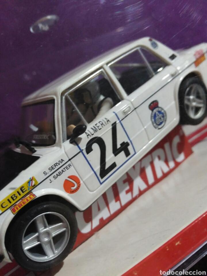 Scalextric: SLOT SCALEXTRIC SEAT 1430 1800 NÚMERO 24 SALVADOR SERBIA Y JORDI SABATER 7 RALLY DE MONTECARLO 1977 - Foto 7 - 194878912