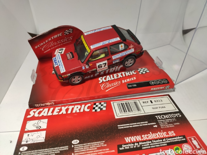SCALEXTRIC SEAT FURA TECNITOYS REF. 6313 (Juguetes - Slot Cars - Scalextric Tecnitoys)