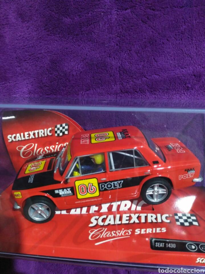 Scalextric: SEAT 1430 EDICIÓN ESPECIAL POLY SCALEXTRIC. - Foto 5 - 195032493