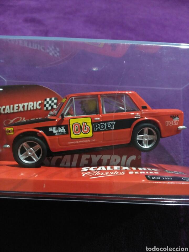 Scalextric: SEAT 1430 EDICIÓN ESPECIAL POLY SCALEXTRIC. - Foto 7 - 195032493